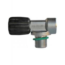 Zawór pojedynczy M25x2, 232bar,do rebreathera