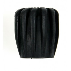 Gałka czarna 42mm, tworzywo ABS
