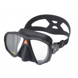 OMS Maska z podwójnym s... bezszkieletowa, czarna