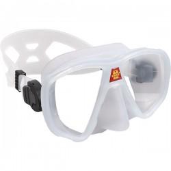 OMS Maska z podwójnym s..., bezszkieletowa, biała