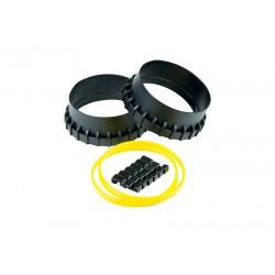 Pierścienie miękkie Sla...manszetami silikonowymi
