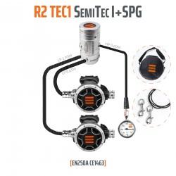 Tecline R2 TEC1 zestaw ...I z manometrem - EN250A