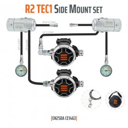 Tecline R2 TEC1 zestaw Side Mount - EN250A